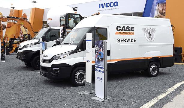 IVECO prezentuje szeroką ofertę dla branży budowlanej na targach Bauma 2019